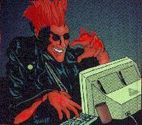 """Κόκκινος Μπαγαποντοδότης, επιφορτισμένος με την κατακρύμνιση των """"άλλων"""", σε σπάνια φωτογραφία (από xalikoutis, 22/10/08)"""