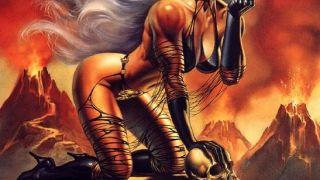 Lilith\'s Toil - εξώφυλλο από τον πρώτο δίσκο του επικ-βλακ(?) μέταλ συγκροτήματος Armandolilian (από xalikoutis, 29/11/08)