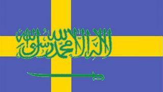 Σημαία της Σουηδικής Αραβίας (από Vrastaman, 06/11/08)
