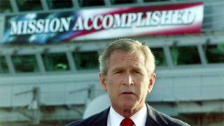 Μέχρι και στις καθυστερήσεις του παιχνιδιού της Προεδρείας του δούλεψε για να περατώσει την αποστολή του Μπους τις...  (από Hank, 07/01/09)