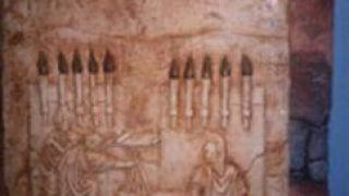 Απεικόνιση του αρχαιοελληνικού οπτικού τηλέγραφου (φρυκτωρία) (από GATZMAN, 16/02/09)