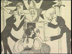 γελοιογραφία εποχής (από Pirate Jenny, 13/02/09)