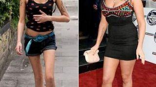Η Amy Winehouse με και χωρις πιασίματα!  (από Vrastaman, 25/02/09)
