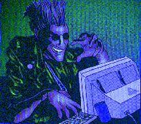 Γαλάζιος μπαγαποντοδότης εν δράσει! (από Vrastaman, 05/02/09)