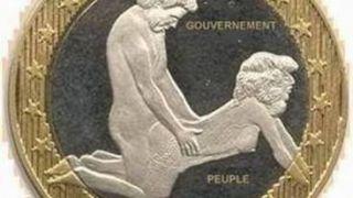 O λαός στο ρόλο ορθοπεηκού διεγείρει την κυβέρνηση (από GATZMAN, 11/02/09)