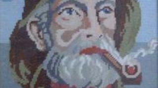 """""""Ο γέρος και το τσιμπούκι του"""", μ\' αυτό το κέντημα γαλουχήθηκαν γενιές και γενιές Ελλεεινίδων, αλλά ο πίνακας περιείχε κρυμένα μηνύματα... (από Hank, 03/02/09)"""