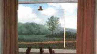 """Πίνακας που αντιγράφει τον Magritte, με τίτλο: """"ceci n\'est pas Magritte"""" (από Dirty Talking, 21/02/09)"""
