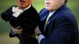 Πρωκτυπουργός μουνόσκυλο του Μπους(τη). (από Hank, 03/02/09)