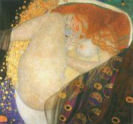 Έγκυος από χρυσή βροχή η Δανάη στον μύθο! Ο πίνακας του Gustav Klimt. (από Hank, 11/02/09)