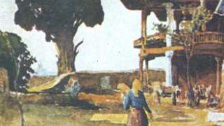Τεκές δερβίσηδων κοντά στην Θεσσαλονίκη, χτισμένος πάνω σε ρωμαίικο μοναστήρι. (από Hank, 09/02/09)