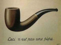 """Κάτι ήξερε ο Μαγκρίτ, όταν έλεγε: """"Ceci n\'est pas une pipe"""". Θα έβαζα και το μύδι του τι ΕΙΝΑΙ μια πίπα, αλλά δεν θέλω να προκαλέσω περισσότερο... (από Hank, 03/02/09)"""