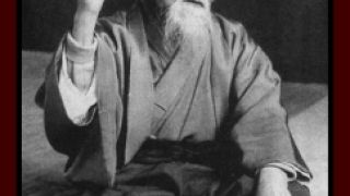 O Sensei Morihei Ueshiba ιδρυτής της πλέον συμβατής με τον Σλανγκισμό πολεμικής τέχνης (Aikido) (από Vrastaman, 18/02/09)