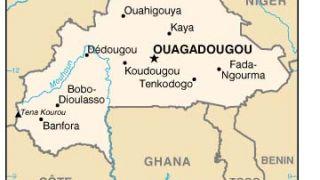 Χάρτης της Μπουρκίνα Φάσο - η Ουαγκαντουγκού πρώτο τραπέζι πίστα (από poniroskylo, 13/03/09)