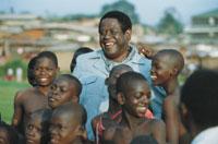 Αμίν Νταντά, παλιός πρόεδρος της Ουγκάντα (από GATZMAN, 18/05/09)