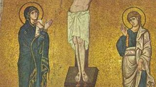 Μονή Δαφνίου, Σταύρωση, τέλη 11ου αι. (από johnblack, 06/08/09)
