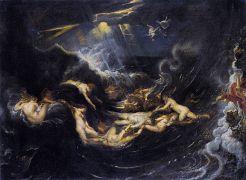 Ο Λέανδρος υποκύπτει λόγω του πάθους του για την Ηρώ. (από Khan, 29/08/09)