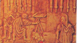 Ο οπτικός τηλέγραφος των Καυλαγόρα και Φιλοπίππου (από Vrastaman, 24/09/09)