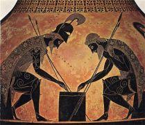 Οι αρχαίο ημών, πριν την μάχη παίζαν και ένα πλακωτό, για προετοίμα... (από BuBis, 30/09/09)