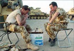 αυτός ο ΜπουΜπης όλο μαλακίες λέει, μόνο εμείς οι σκακισταί είμαστε μάχιμοι! (από BuBis, 30/09/09)