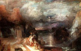 """""""Ηρώ"""", πίνακας του Τέρνερ. (από Khan, 07/09/09)"""