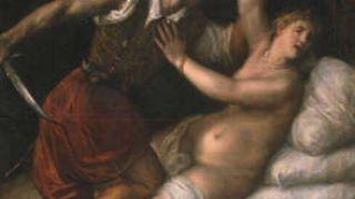 Ο βιασμός της Λουκρητίας από τον Tiziano Vecellio. (από Khan, 15/10/09)