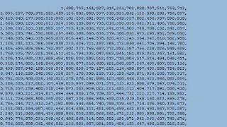 Απόσπασμα του μεγαλύτερου πρώτου αριθμού που έχει υπολογισθεί ως τώρα. Δατς γουατ άι κωλ σγουρό ποσό. (από patsis, 16/10/09)