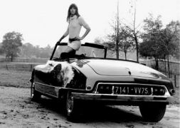 Jane Birkin με βάτραχο (από Khan, 02/10/09)