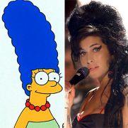 Amy Winehouse & Marjorie Simpson (από poniroskylo, 15/11/09)