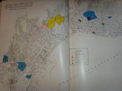 Σχεδιάγραμμα της πόλης που δείχνει πού ήταν τα Εβραίικα μνήματα (από poniroskylo, 08/11/09)