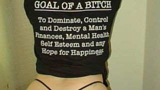 The goal of a bitch. (από Galadriel, 02/12/09)