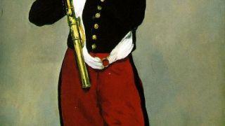 Νεαρός παίζων την φίφα; Πίναξ του Μανέ. (από poniroskylo, 17/01/10)