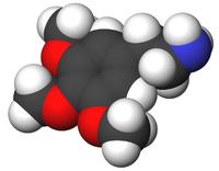 O χημικός τύπος της μεσκαλίνης (από allivegp, 17/02/10)