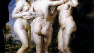 Οι Τρεις γαλακτομπούτικες Χάριτες, το αισθητικό ιδεώδες του αλμπινιστή και τοφαλολάγνου Rubens.  (από Khan, 31/05/10)