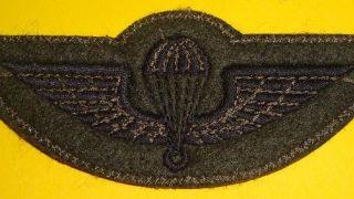 Η πουλάδα που ράβουν στη στολή τους οι αλεξιπτωτιστές του στρατού ξηράς. (από Cunning Linguist, 23/08/10)