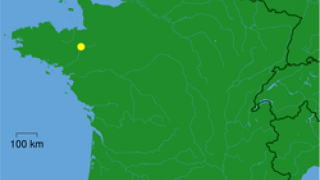 Η θέση της Ρεν στο γαλλατικό χάρτη (από GATZMAN, 14/09/10)