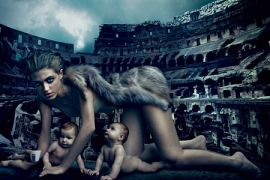 Lupa Capitolina, η εκδοχή της Annie Leibowitz (από johnblack, 05/11/10)
