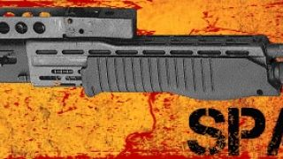 Spas-12, 12 gauge pump-action shotgun. (από Tsatsaras the Pimp, 05/04/11)