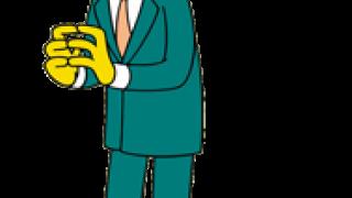 "The Simpsons, Charles Montgomery ""Monty"" Burns. (από patsis, 08/04/11)"