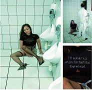 psycho γκράφιτι σε τουαλέτα  (από sstteffannoss, 05/04/11)