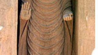 Οι Ελληνιστικοί Βούδες του Bamiyan δυναμιτίστηκαν το 2001 από τους σπασαρχίδες Ταλιμπάν (πριν) (από Vrastaman, 22/08/11)