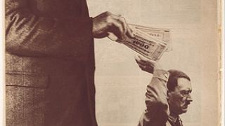 "(""Millions stand behind me"" John Heartfield 1932) (από HODJAS, 25/11/11)"