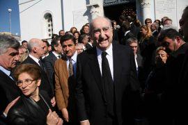 Στην κηδεία του Μ. Έβερτ. (από Vrastaman, 10/12/11)