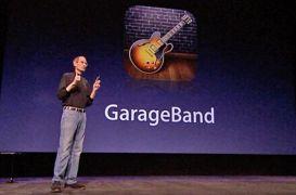 Ετοιμοθάνατος Jobs παρουσιάζει το GarageBand for iPad (από Vrastaman, 11/01/12)