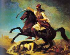 Ο Γεώργιος Καραϊσκάκης δεν έκοψε ποτέ το χούι να βρίζει, όπως άλλωστε και ο κατήγορός του Γαλάνης Μεγαπάνου δεν έκοψε το χούι να γαμεί (ακόμη και στα ογδόντα του) (από Khan, 25/03/12)