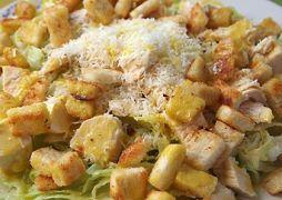 Η σαλάτα του Μιχαλιολάκου (καίσαρα). Παρεπιπτόντως, δεν περιέχει αυγά (από GATZMAN, 09/05/12)