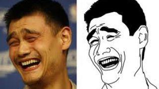 Η bitch please φάτσα του μπασκετμπολίστα Yao Ming. (από Khan, 11/06/12)