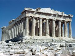 Η Ασπρόκωλη των Αθηνών διέθετε Παρθενώνα με λευκοπυγείς παρθένους. (από Khan, 01/07/12)