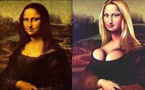 Mona Lisa πριν και μετά από Tom Pousti (από Khan, 03/12/12)