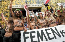 Μερικές από τις φεμουνάρες του φεμουνιστικού ακτιβιστικού κινήματος Femen που μας έχει προσφέρει μεγάλες συγκινήσεις. (από Khan, 10/01/13)
