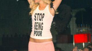 Κοινωνικός ακτιβισμός της Paris Hilton, με παρότρυνση προς τους φτωχούς. (από Khan, 16/05/13)